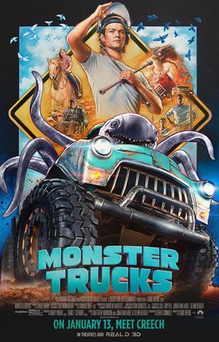 Монстр-траки / Monster Trucks (2016) HDRip | iTunes