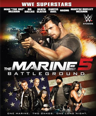Морпех 5: Поле битвы / The Marine 5: Battleground (2017) WEB-DLRip