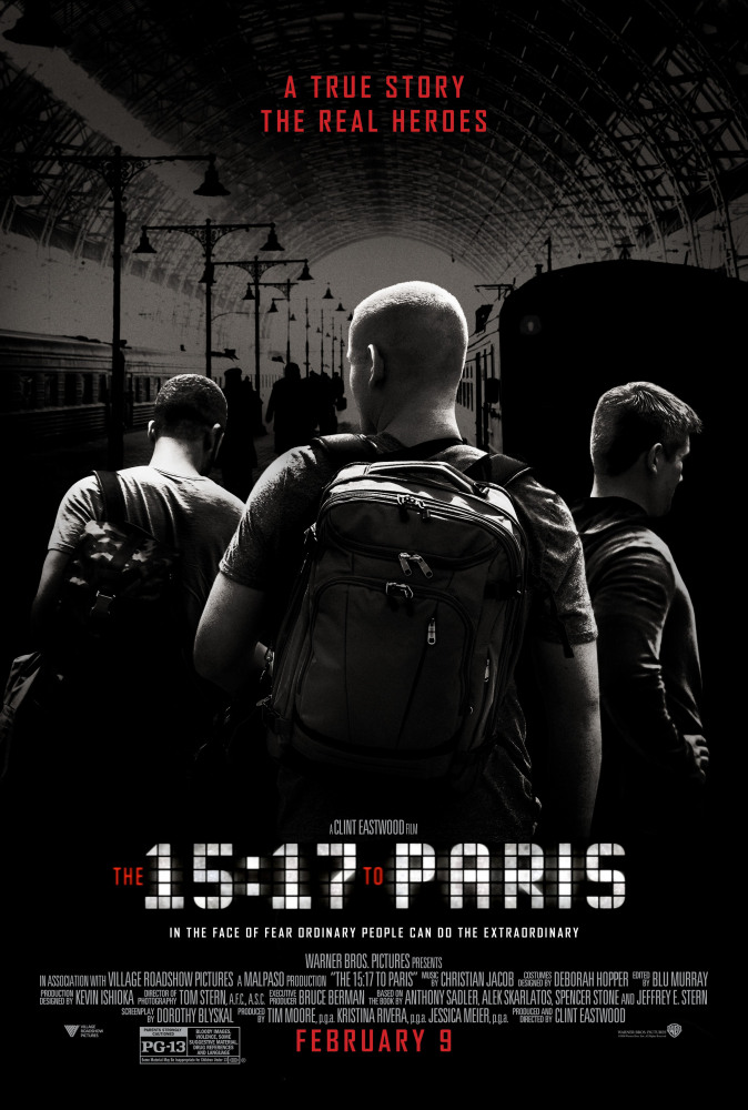 Поезд на Париж / The 15:17 to Paris (2018) BDRip | Лицензия