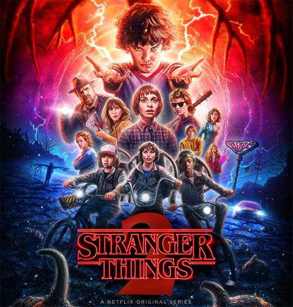 Очень странные дела / Stranger Things [S01-02] (2016-2017) BDRip, WEBRip | LostFilm