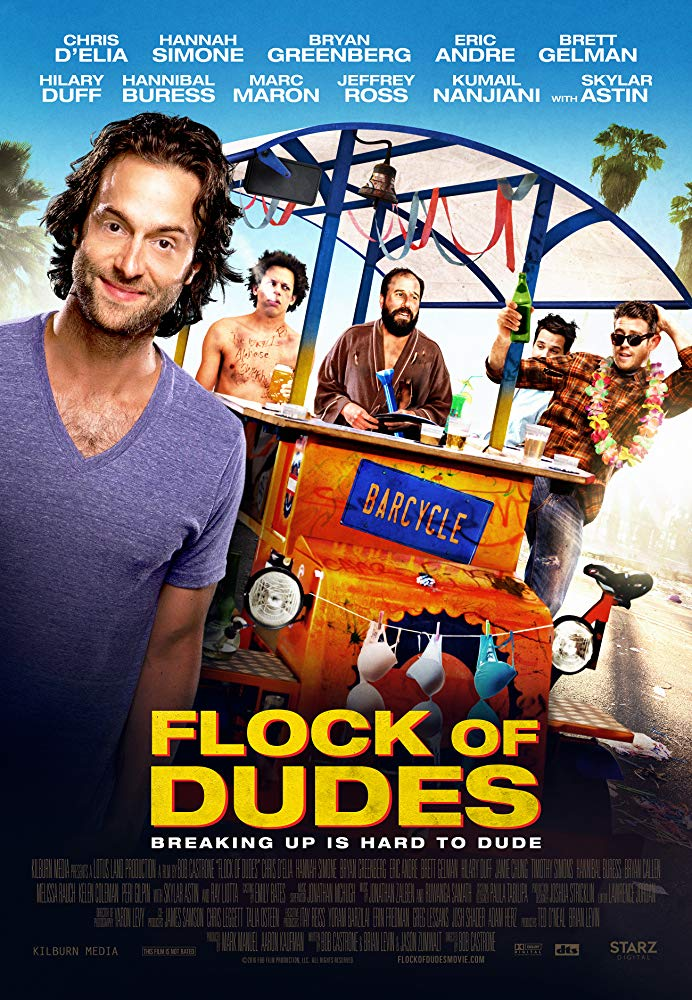 Стая парней / Flock of Dudes (2016) WEB-DLRip