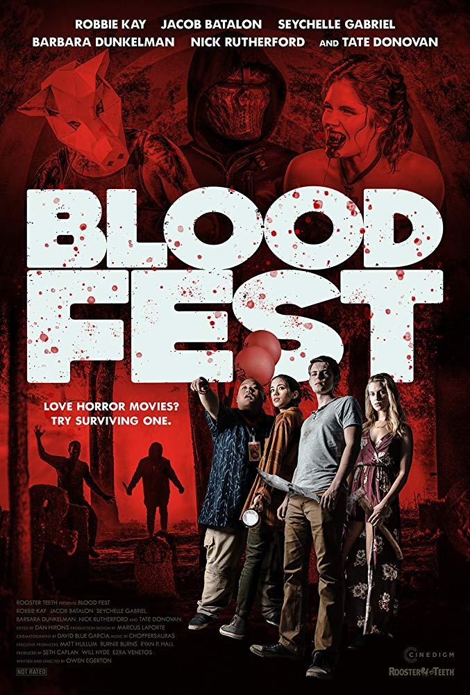 Кровавый фестиваль / Blood Fest (2018) WEB-DLRip   HDrezka Studio