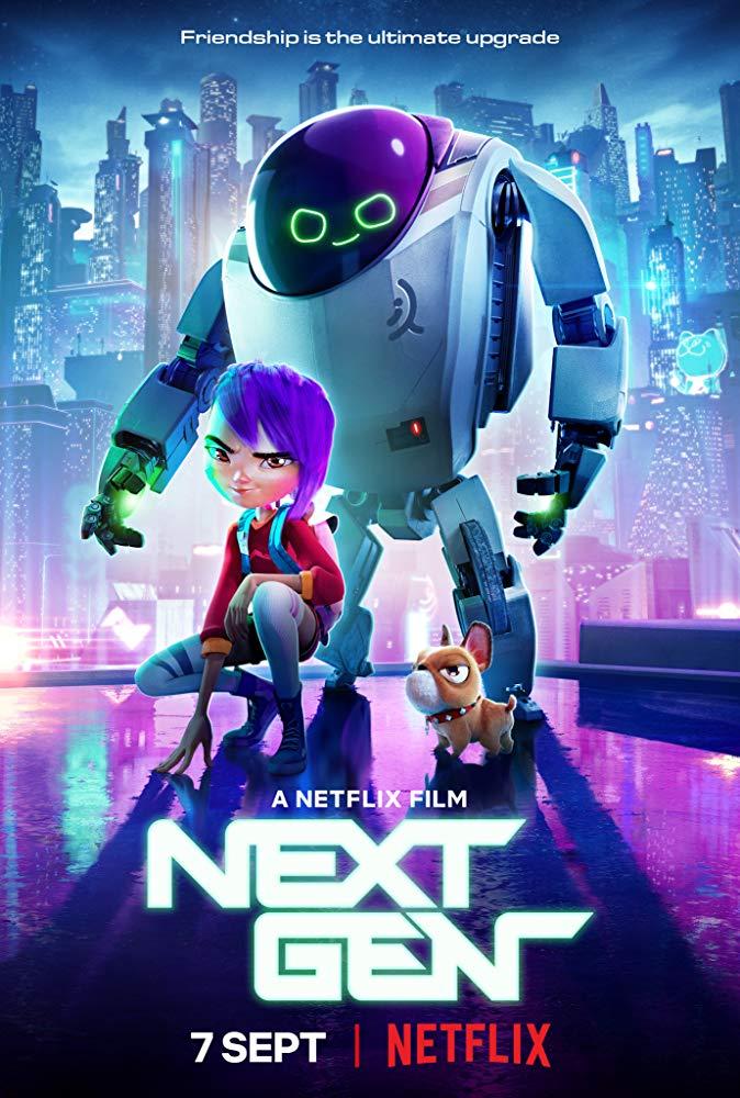 Следующее поколение / Next Gen (2018) WEBRip 1080p | Чистый звук