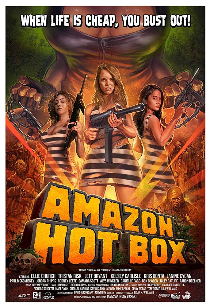 Амазонская тюряга / Amazon Hot Box (2018) WEB-DLRip
