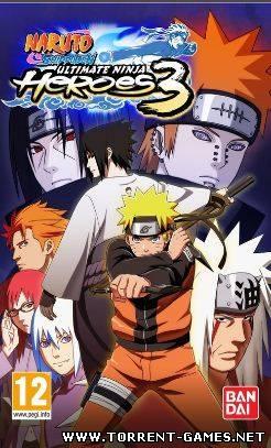 Naruto Shippuuden Ultimate Ninja Heroes 3 [2010/ENG]