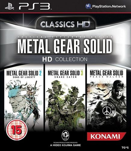 Metal Gear Solid HD Collection [EUR] [2011|Eng]