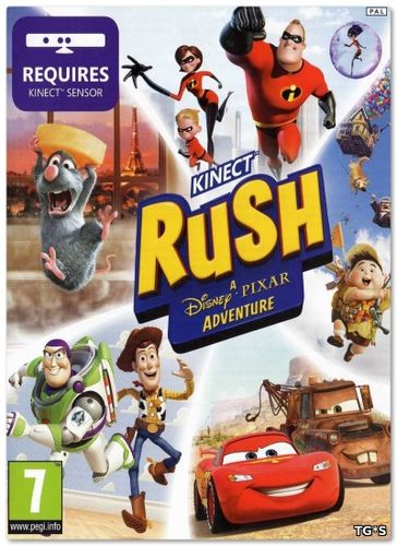 Rush: A Disney Pixar Adventure (2017) PC | Лицензия