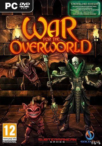War for the Overworld: Gold Edition [v 1.6f11 + DLCs] (2015) PC | RePack by qoob