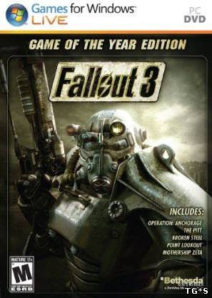 Fallout 3: Game of the Year Edition (2009) PC | RePack by R.G. Catalyst
