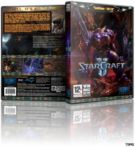 StarCraft II Wings of Liberty + Heart of the Swarm (2013/PC/RePack/Rus)