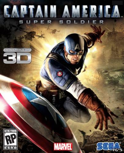 Captain America - Super Soldier [Emul/Wii] (2011/PC/Eng) by tg