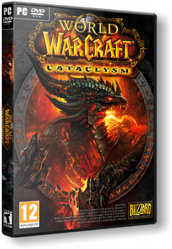 World of Warcraft: Cataclysm [v. 4.0.6.13623] (2010) PC