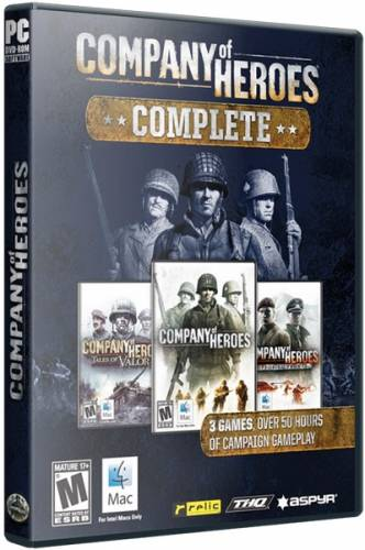 Company of Heroes - Complete Pack [v 2.700.2.43] (2006) PC | Steam-Rip от Let'sРlay