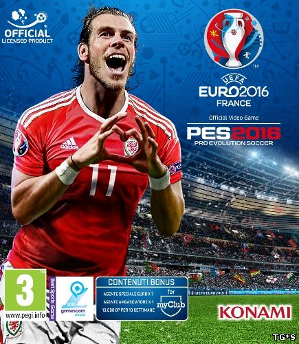PES 2016 / Pro Evolution Soccer 2016 [v 1.05.00 + DLC's] (2015) PC | RePack от R.G. Catalyst