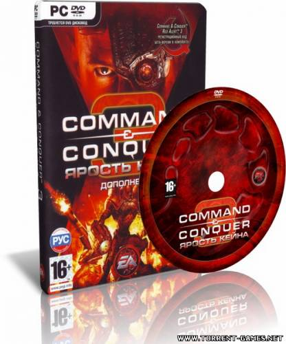 Command & Conquer 3: Kane's Wrath (2008) PC | Repack by -=Hooli G@n=-