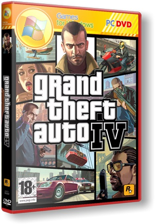 Grand Theft Auto IV in style GTA V (Rockstar Games) (RUS-ENG-MULTI5) [Repack] От JohnMc