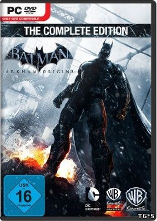Batman: Arkham Origins - The Complete Edition (2013) PC | Rip от FitGirl