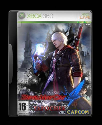 [Xbox 360]Devil May Cry 4 [Region Free/RUSSOUND]