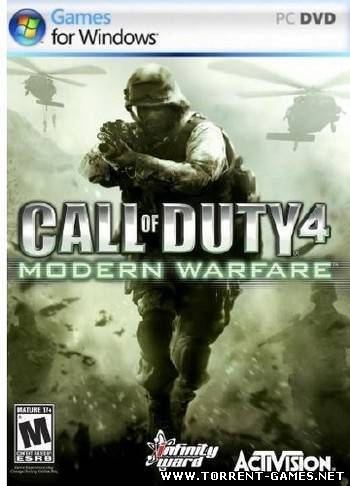 [Repack] Call of Duty 4: Modern Warfare (2007) | RUS, ENG от R.G. Механики