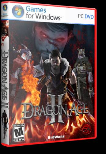 Dragon Age 2 v.1.02 (Electronic Arts) (3 DLC + 18 предметов) (RUS/ENG) [RePack] -Ultra-