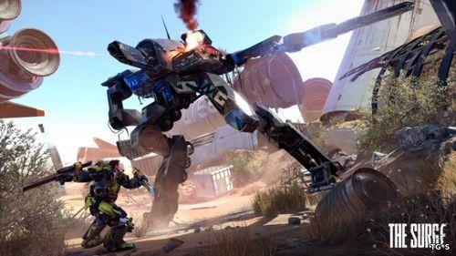 The Surge Goes Gold поддержка PS4 Pro подробности