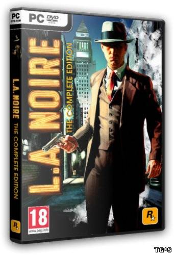 L.A.Noire: The Complete Edition [v.1.2.2610 + 9 DLC] (2011) PC | RePack от R.G.BoxPack