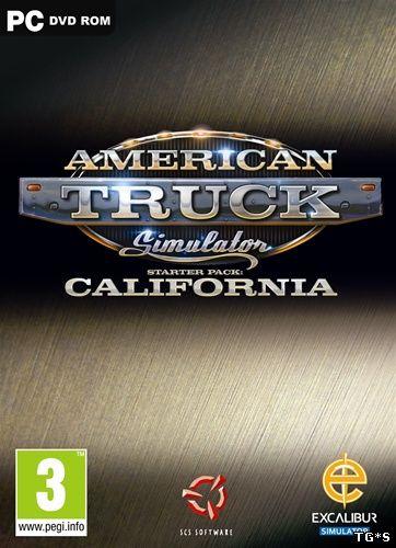 American Truck Simulator [v 1.2.1.1s + 5 DLC] (2016) PC | RePack от R.G. Механики