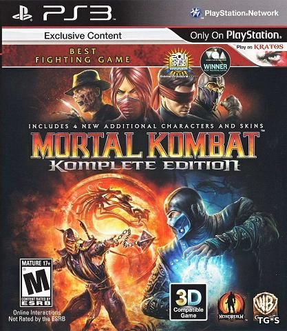 Mortal Kombat: Komplete Edition [RePack] [USA] [2013|Rus]