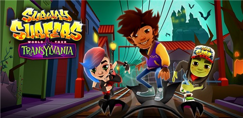 Subway Surfers: World Tour Transylvania [v1.46.0 + Mod Money] (2012) Android