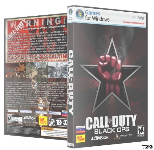Call of Duty: Black Ops (2010) PC | SP/ZM/MP | Rip by X-NET