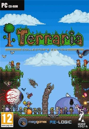 Terraria (v1.3.3.3) (Re-Logic) (RUS/ENG/MULTi5) [L|GOG]