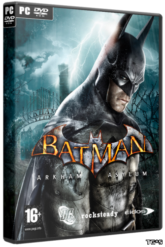 Batman: Arkham Asylum - Game of the Year Edition (2010) PC | Repack от -=Hooli G@n=- от Zlofenix