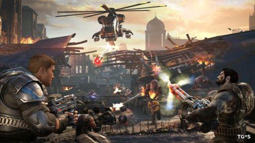 Владельцы ПК и Xbox One смогут опробовать Gears of War 4 сегодня