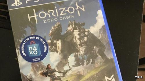 Первые копии дисковой версии игры Horizon Zero Dawn