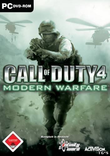 Call of Duty 4 Modern Warfare (2007) PC | Rip / Multiplayer