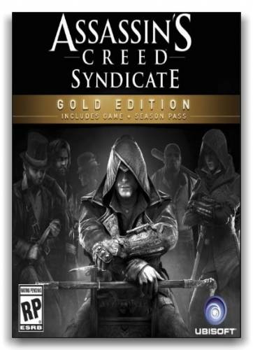 Assassin's Creed: Syndicate - Gold Edition (Ubisoft Entertainment) (Update 4 v.1.4.0 + DLC) {RUS|ENG} [Repack] от xatab