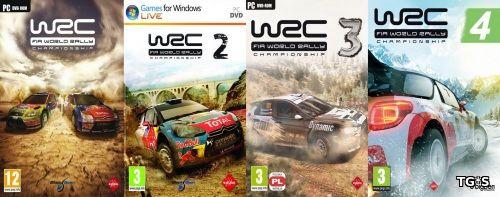 WRC : FIA World Rally Championship Tetralogy / WRC : FIA World Rally Championship [2010-2013) [RUS/ENG][Repack] от Audioslave