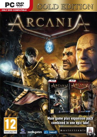 Аркания : Готика 4 - Золотое издание / Arcania : Gothic 4 - Gold Edition (2011) PC | RePack от FitGirl