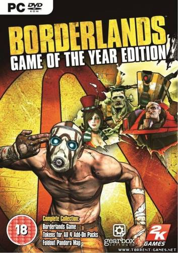 Borderlands Game of the Year Edition (2K Games) (RUS) [Repack] от Other s