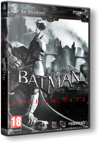 Batman: Аркхем Сити Batman: Arkham City [v 1.01 + 13 DLC] (2011) PC | RePack от Fenixx