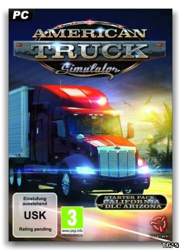 American Truck Simulator [v 1.32.4.45s + 19 DLC] (2016) PC | RePack by SpaceX