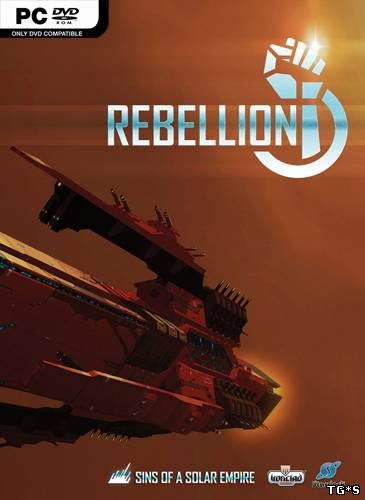 Sins of a Solar Empire - Rebellion [v 1.921 + 3 DLC] (2012) PC | Лицензия GOG