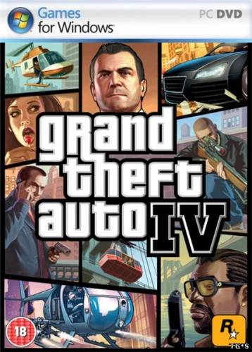 GTA 4 / Grand Theft Auto IV in style V [v.5.0] (2014) PC | RePack oт JohnMc