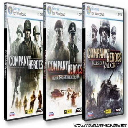 Антология Company of Heroes 3в1 (2009) Repack