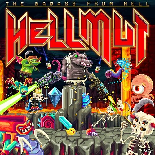 Hellmut: The Badass From Hell [v 1.0.3 +DLC] (2018) PC | Лицензия
