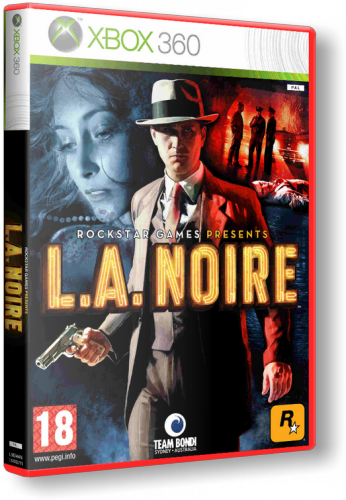 XBOX360 L.A. Noire: The Complete Edition Region FreeENG- DLC на 4-ом диске