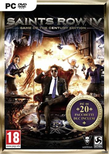 Saints Row 4: Game of the Century Edition (2013) [RUS/ENG][L] GOG