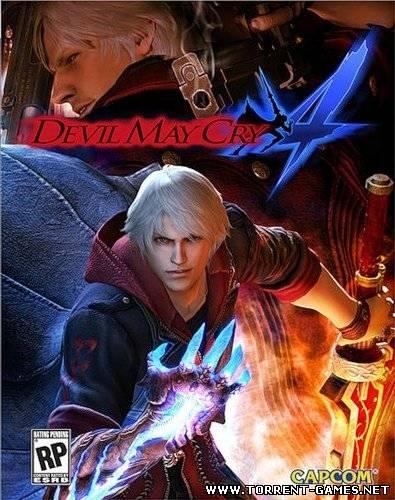 [RePack] Devil May Cry 4 [Ru] (L) 2008 | RePack от Fenixx {v1.01.}