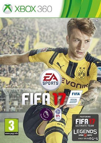 [Xbox 360] FIFA 17 [GOD / RUS]