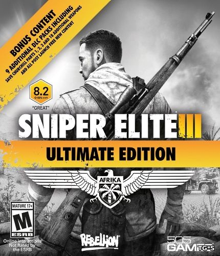 Sniper Elite 3: Ultimate Edition (2014) PC | Лицензия
